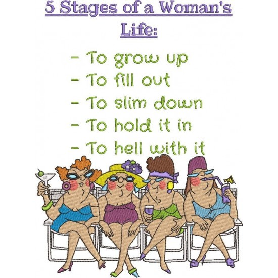 5 Stages of a Woman's Life