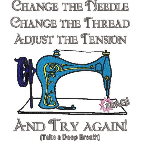 Change the Needle Quote