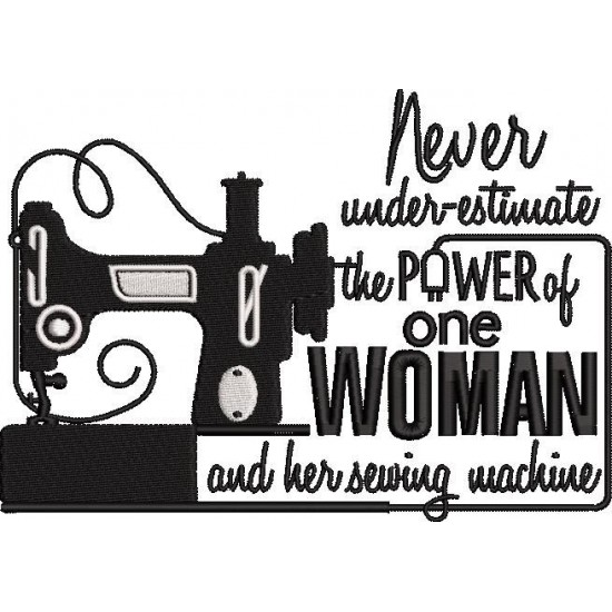 Never Understimate the Power One Woman
