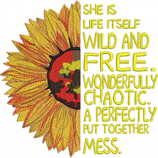 She Is Itself Wild And Free