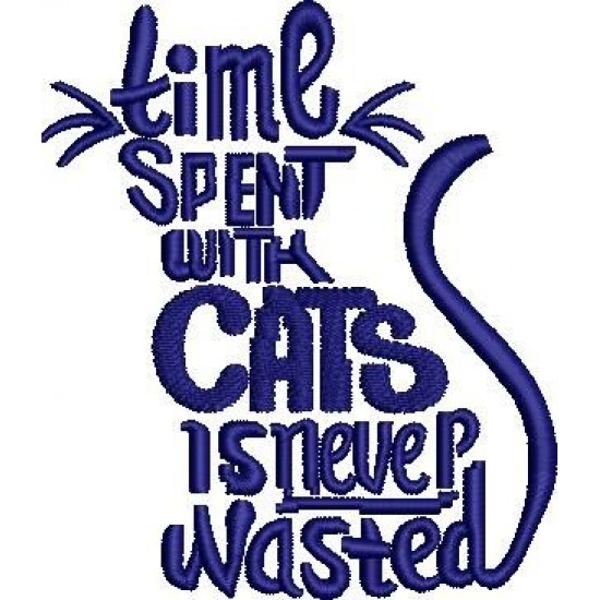 Time Spent with Cats Never Wasted