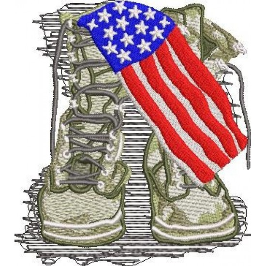 USA Soldier Boots