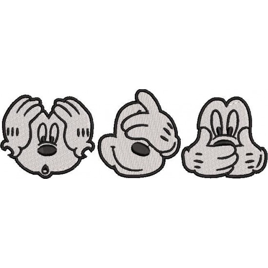 Three Wise Mickey Mouse