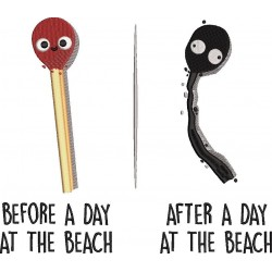 Before After Beach