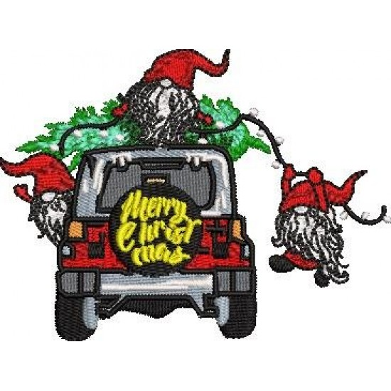 Merry Christmas car