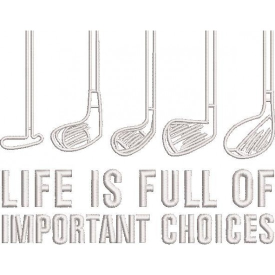 Life Is Full Of Important Choice