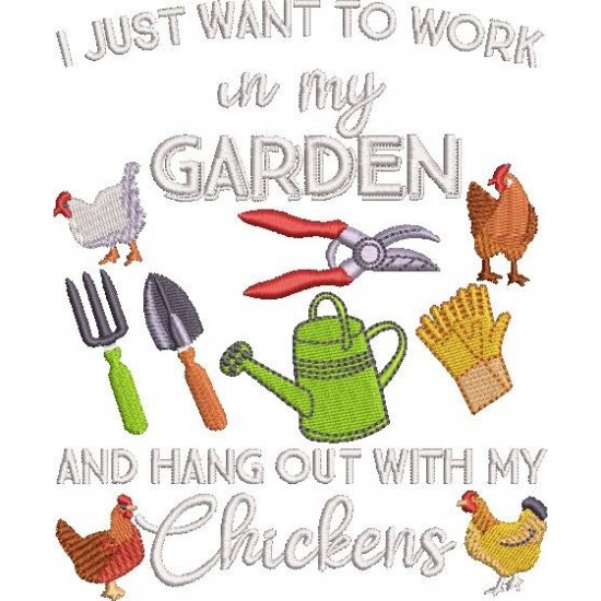 Just Want to Work in My Garden
