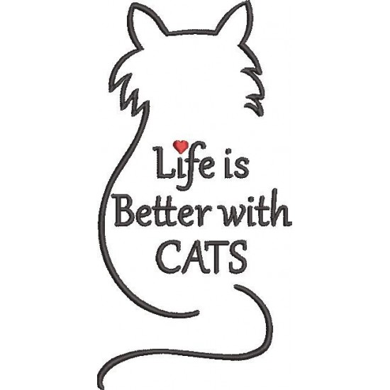 Life is Better With Cat