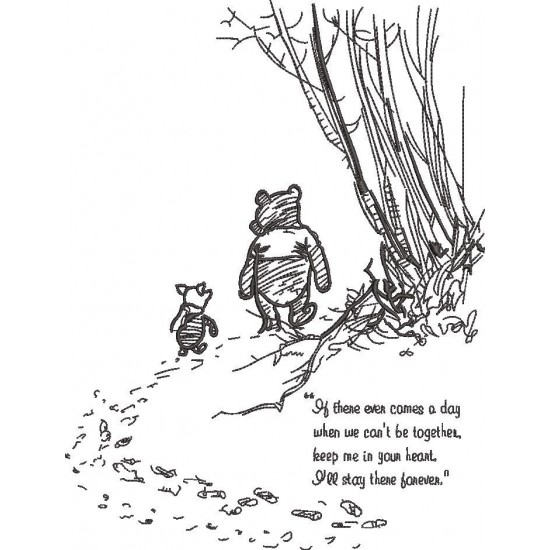 Pooh And Piglet With A Poem