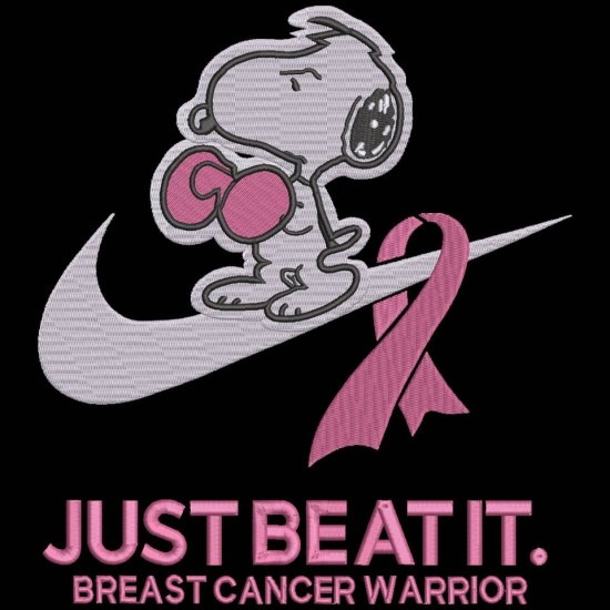 Just Beat It Breast Cancer Warrior