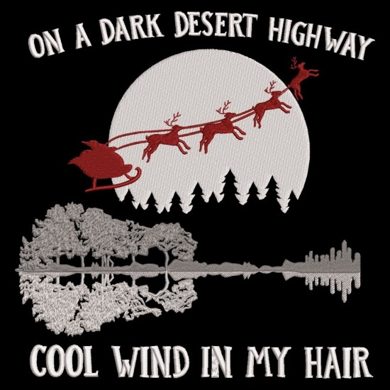On A Dark Desert Highway Sleigh