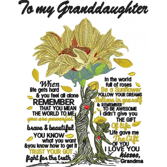 Grandma Granddaughter Poem