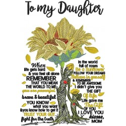 To My Daughter Poem