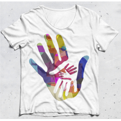 Colorful Family Hand