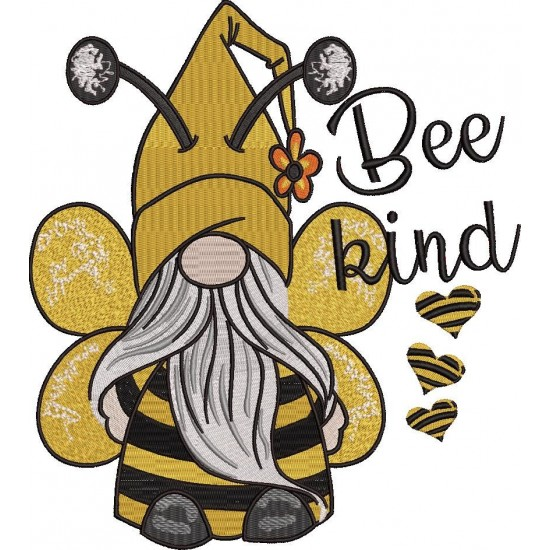 Bee Kind Embroidery
