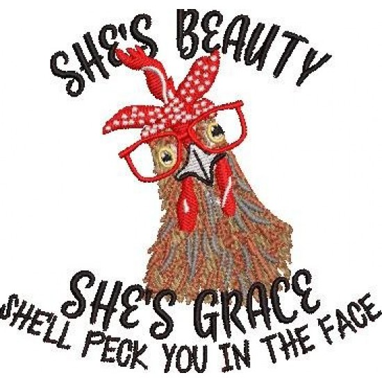 She is Beauty Quote