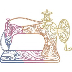 Colorful Sewing Machine