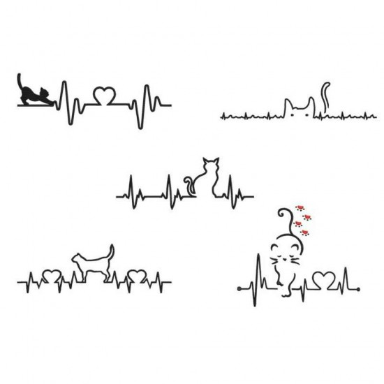 Cat Heart Beat Collection 1