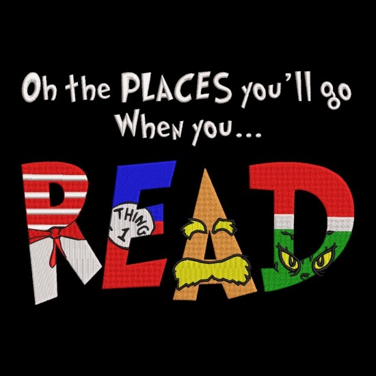 Oh The Places You Wil Go When You Read