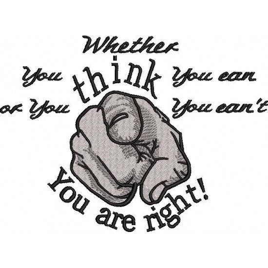 Whether You Think
