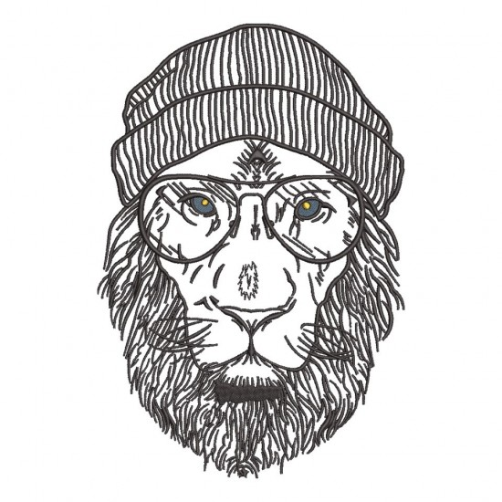 Swag Of Winter Lion