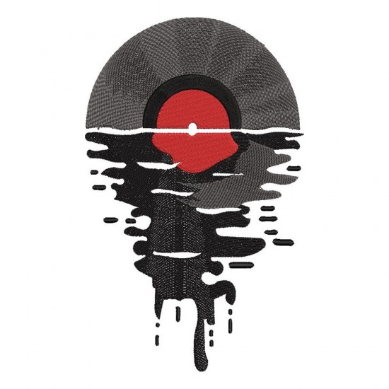 Melting Record Design
