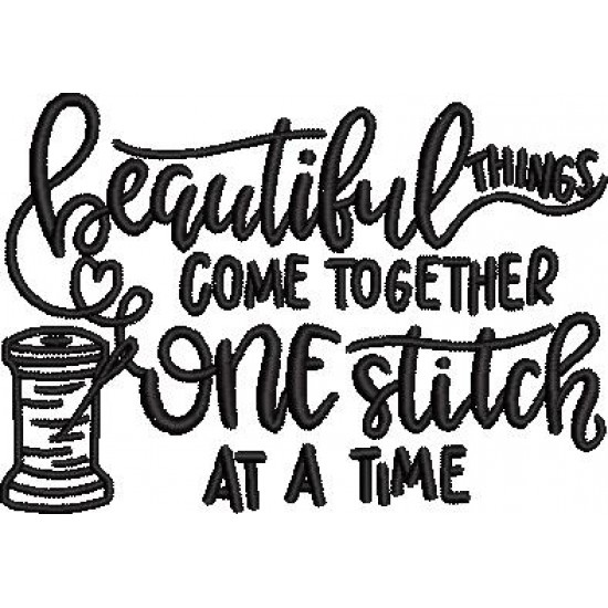 Beautiful Things Come Together Quote