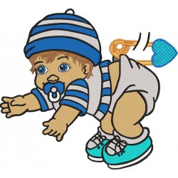 Baby Embroidery Pattern