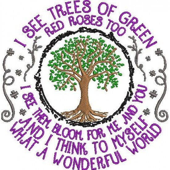 I see tree of green red roses too colored