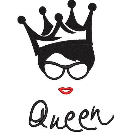 Queen Embroidery Pattern