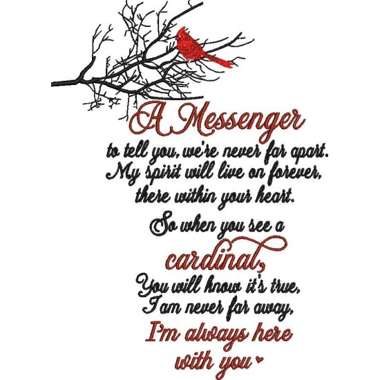 A Messenger Poem
