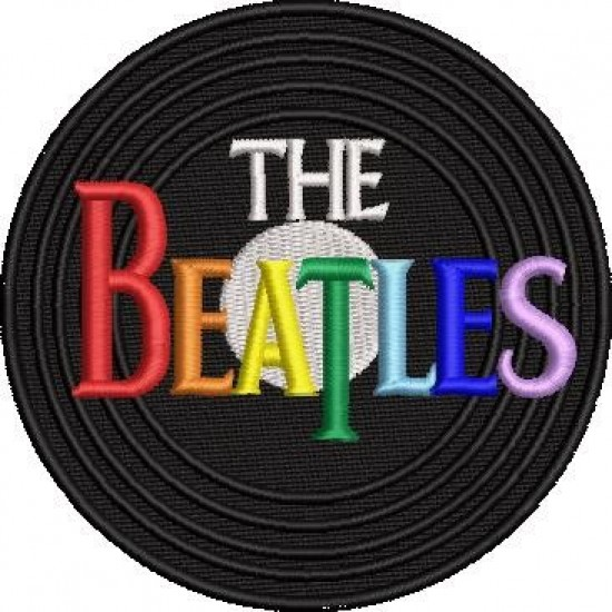 The Beatles Embroidery Design