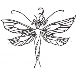 Fairy Embroidery Pattern